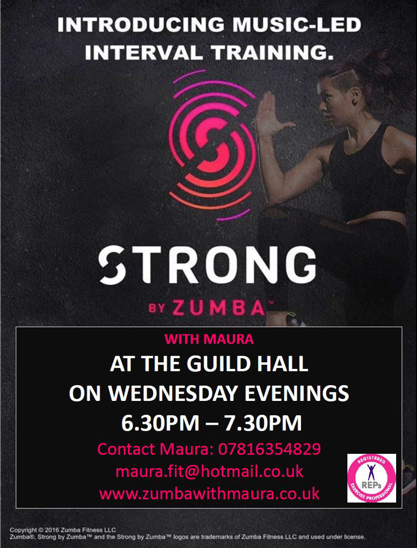 Music-led interval training - Strong by Zumba with Maura